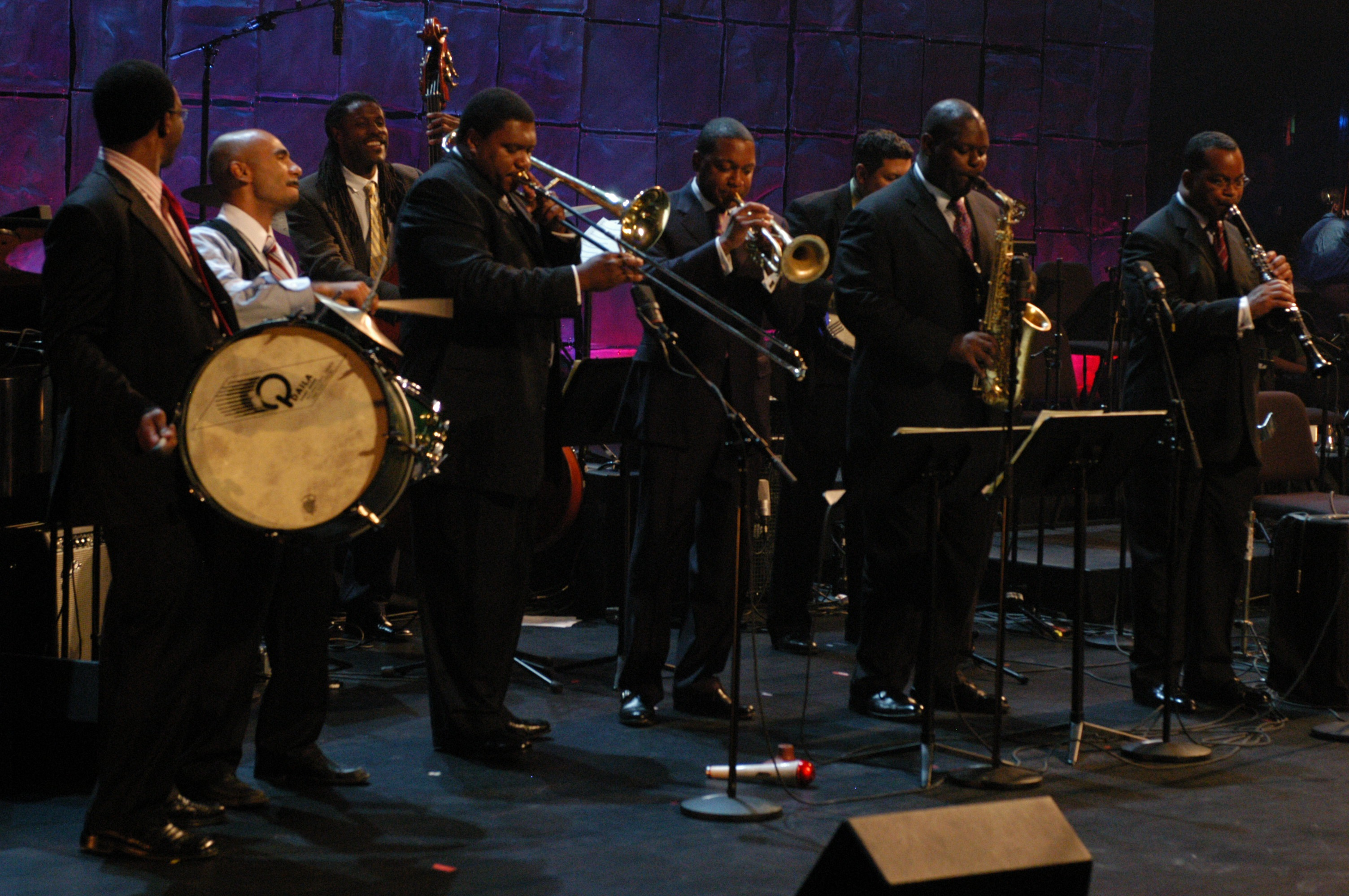 Wynton Marsalis and Friends Perform at Rose Theater