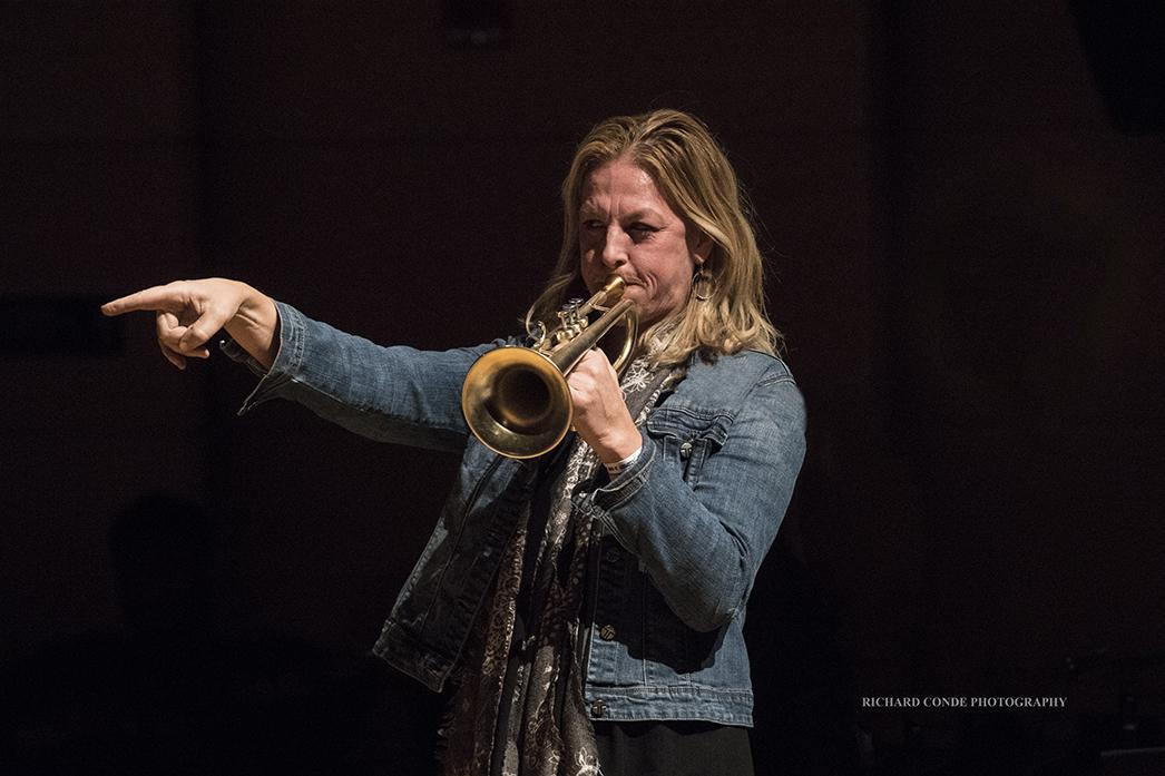 Ingrid Jensen at the 2018 Winter Jazz Festival