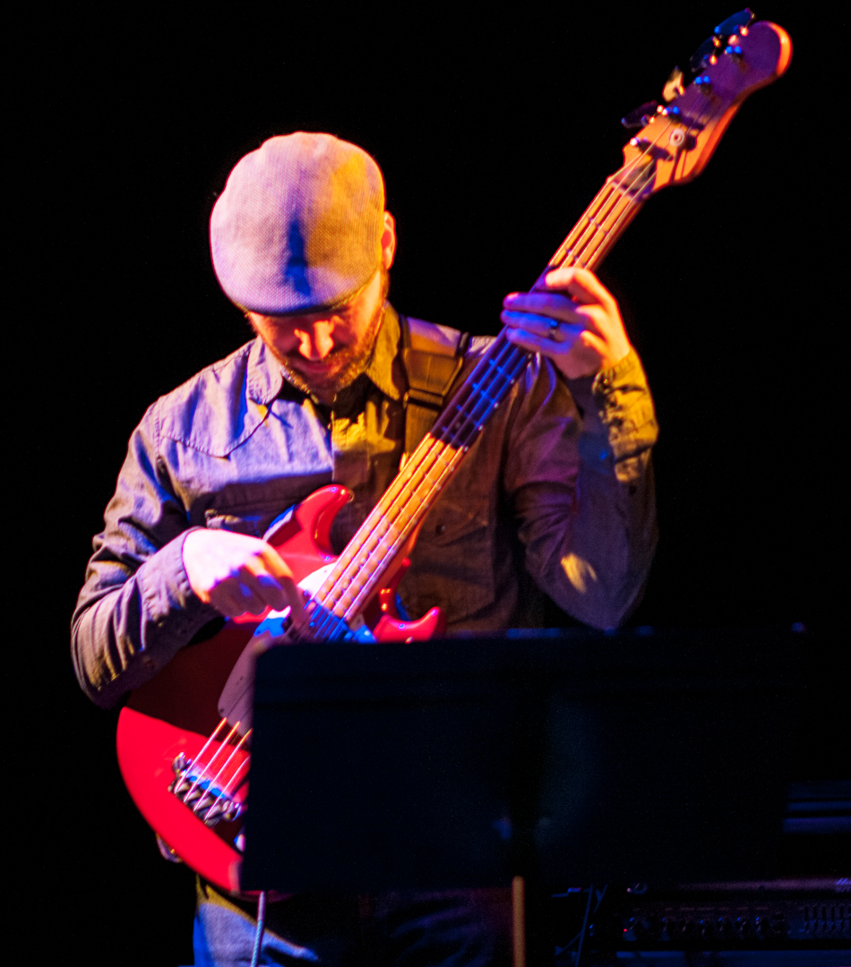 Bass Player with Jamie Saft's New Zio Trio at the Undead Music Festival