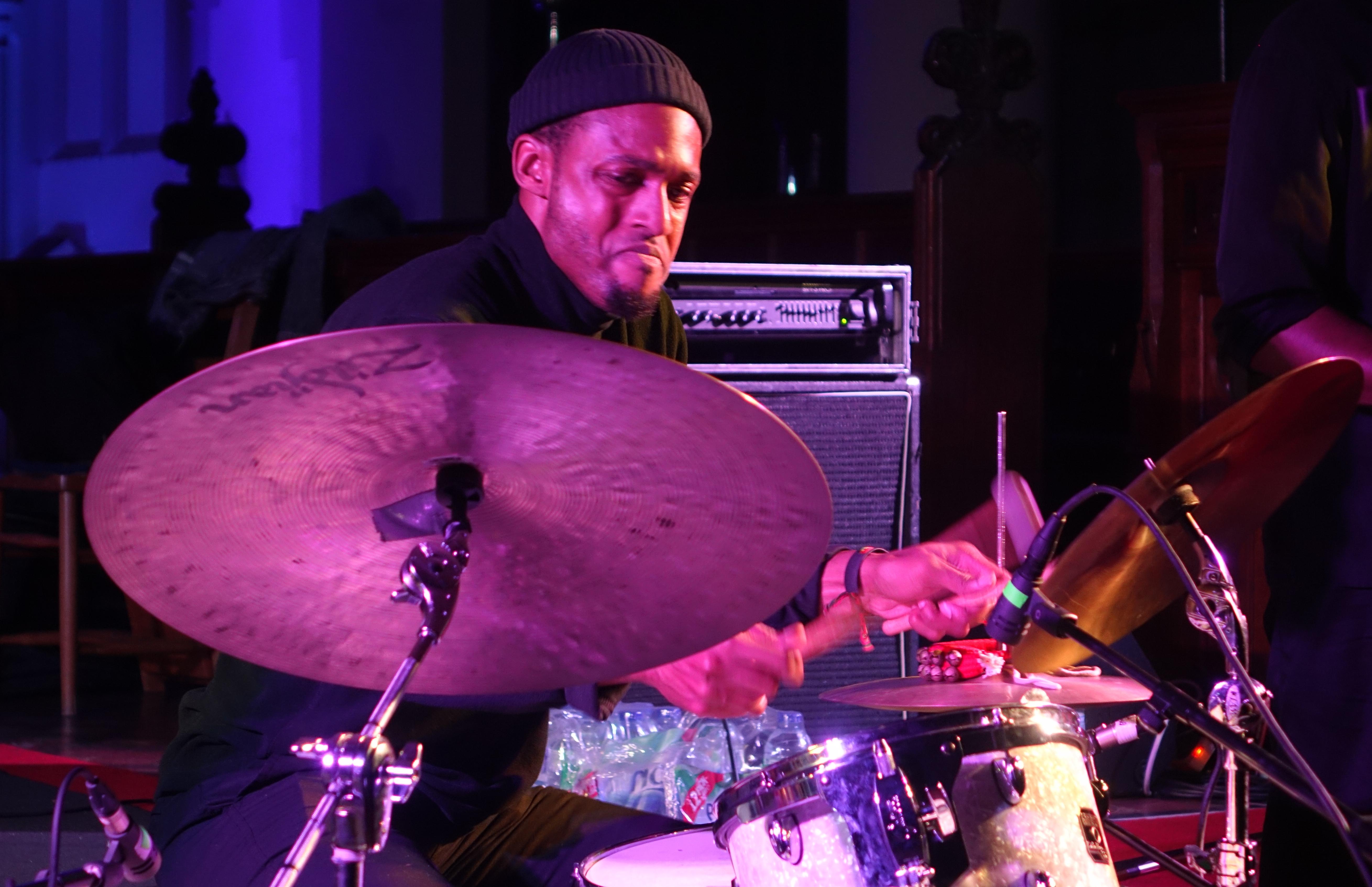 Tcheser Holmes at Brighton Alternative Jazz Festival in October 2018