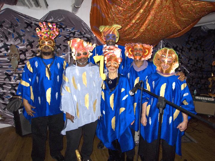 Synergy w/Saco Yasuma/Dave Ross/Lou Grassi/Chris Sullivan/Ras Moshe with Art by Amir Bey - Brecht Forum 2007