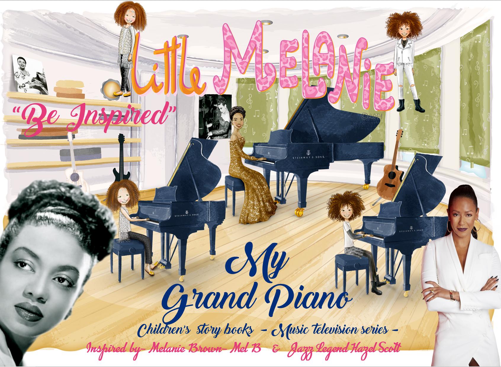LITTLE MELANIE - MY GRAND PIANO - TRIBUTE JAZZ LEGEND HAZEL SCOTT