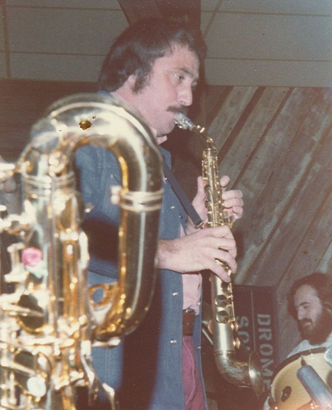 Nick Brignola playing with his band Petrus at the Ramada Inn, Schenectady NY