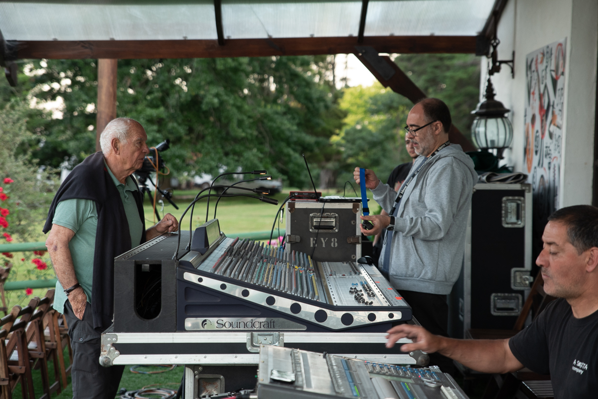 Francisco Yobino (general Producer) & Oscar Pessano (sound Director)