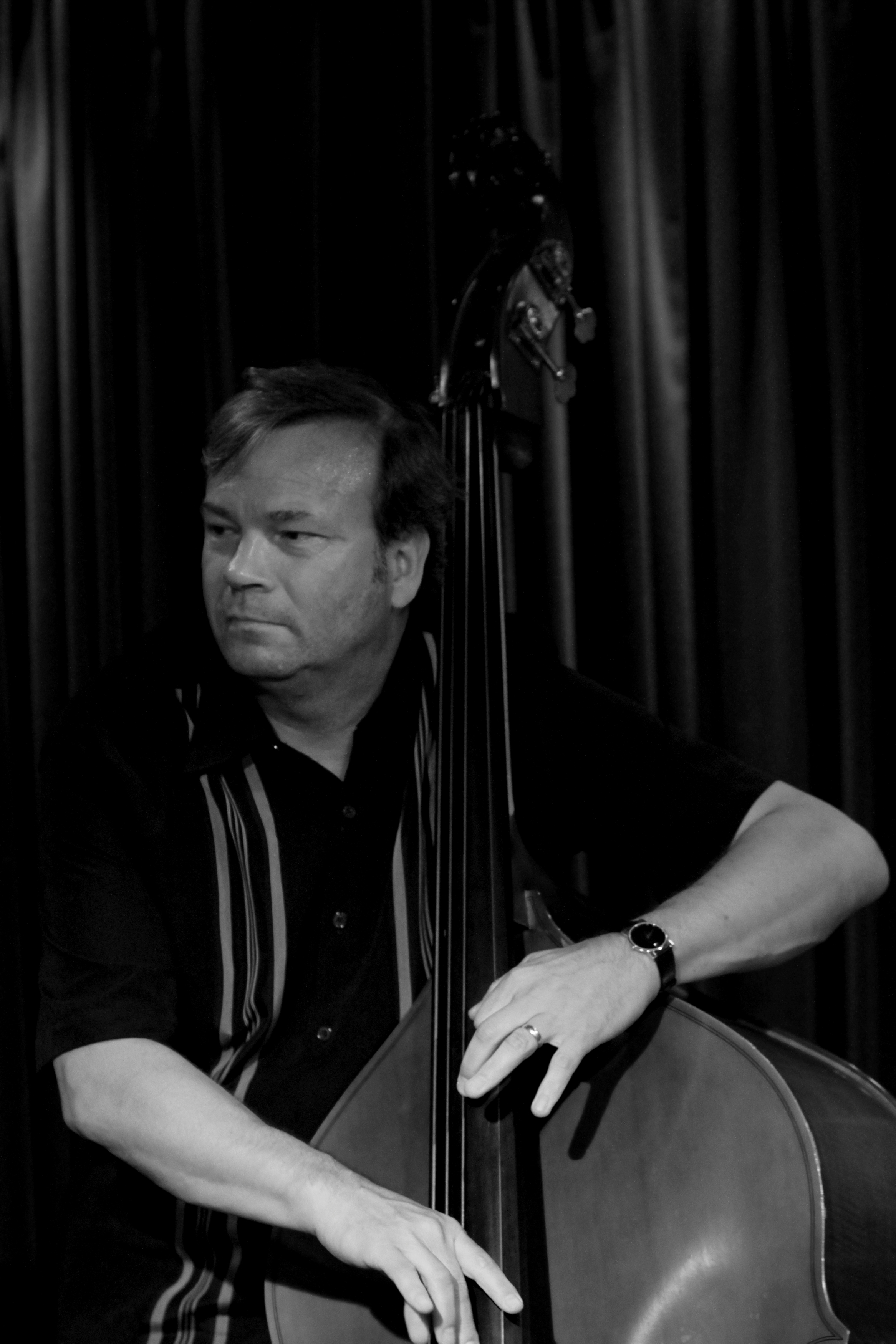 Tom Knific (Bass) on Jazzhus Montmartre, Copenhagen, Denmark