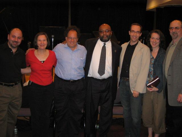Jazz Journalist Association Panel at New School, NYC