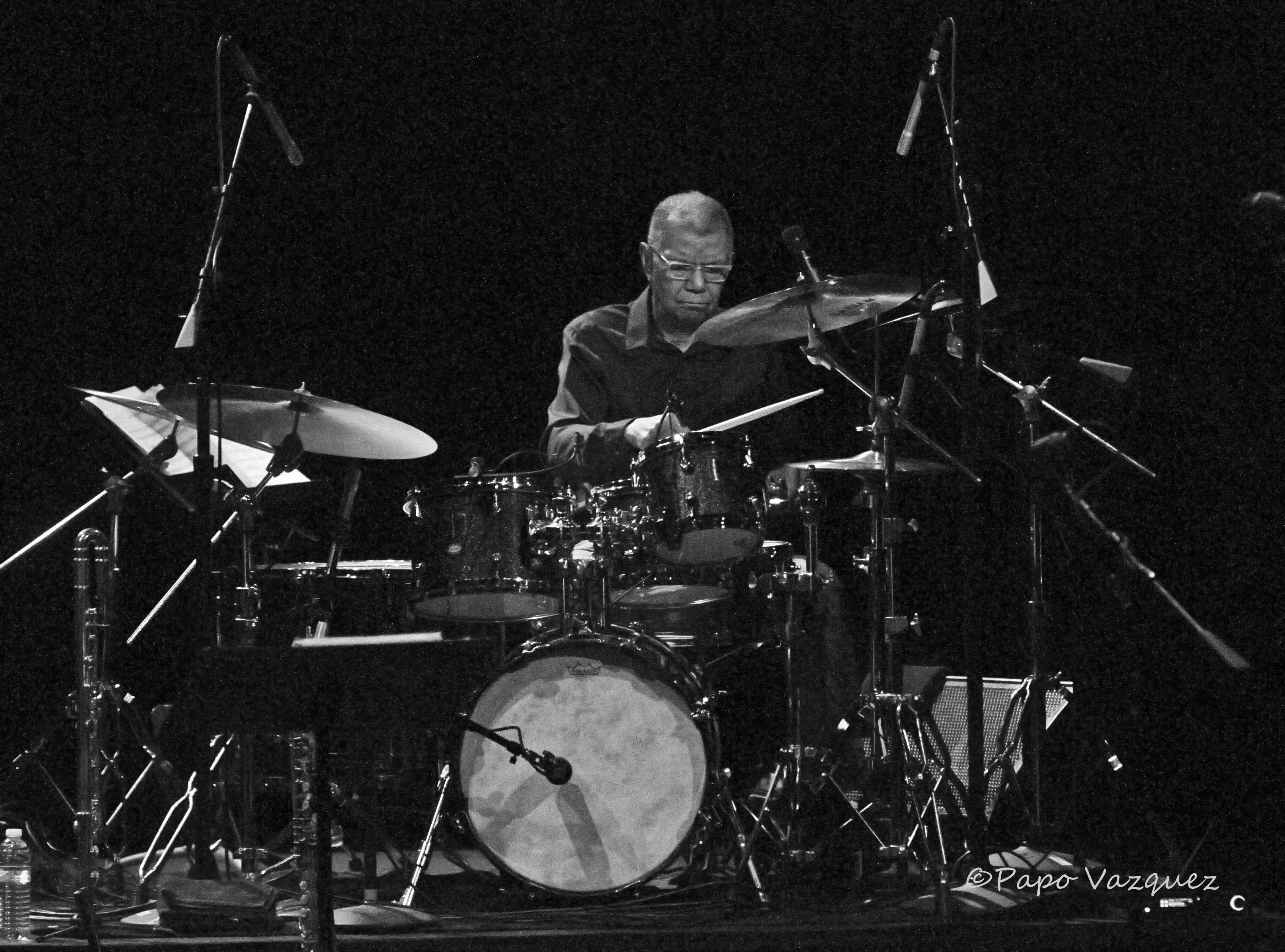 Jack DeJohnette The Moore Theater Seattle, Wa. 4/28/19
