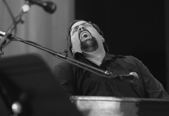 B3 Organist Joey Defrancesco Performing at the Chicago Jazz Festival; Chicago 2006