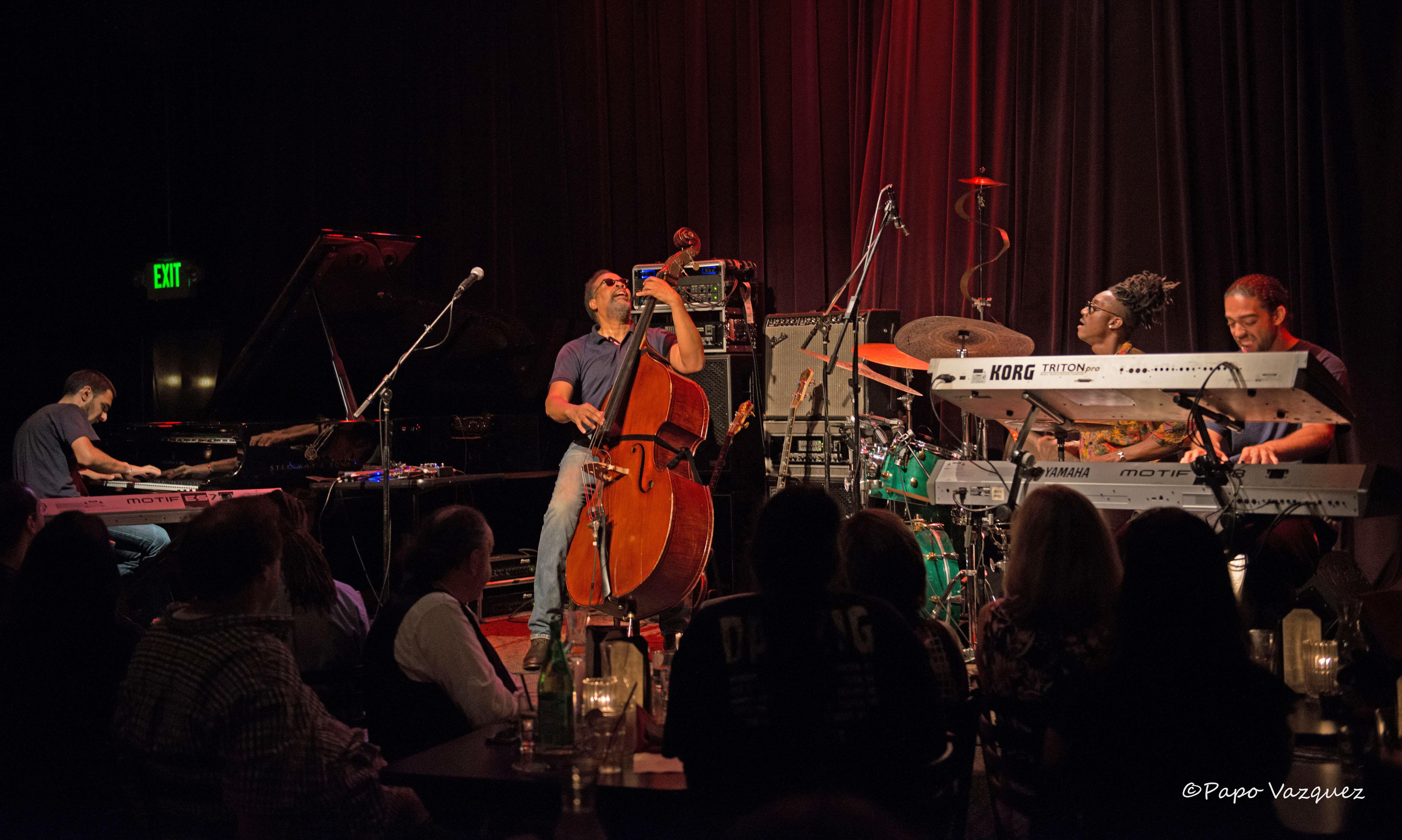 Stanley Clark Jazz Alley Seattle, Wa. 8/20/15