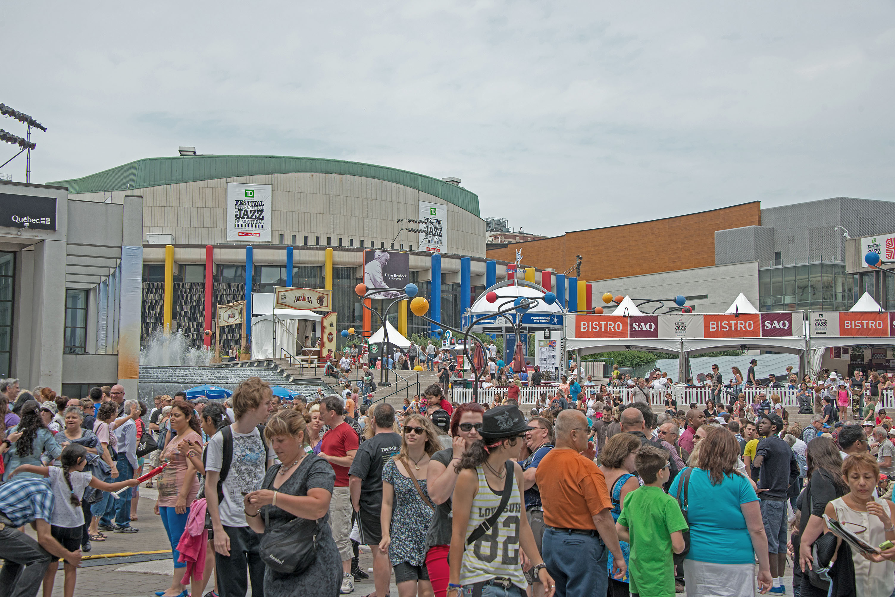 Scenes from 2013 montreal jazz festival