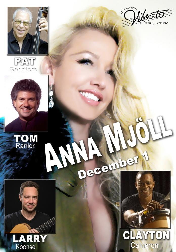Anna Mjoll All-stars At Vibrato In Bel Air, Ca