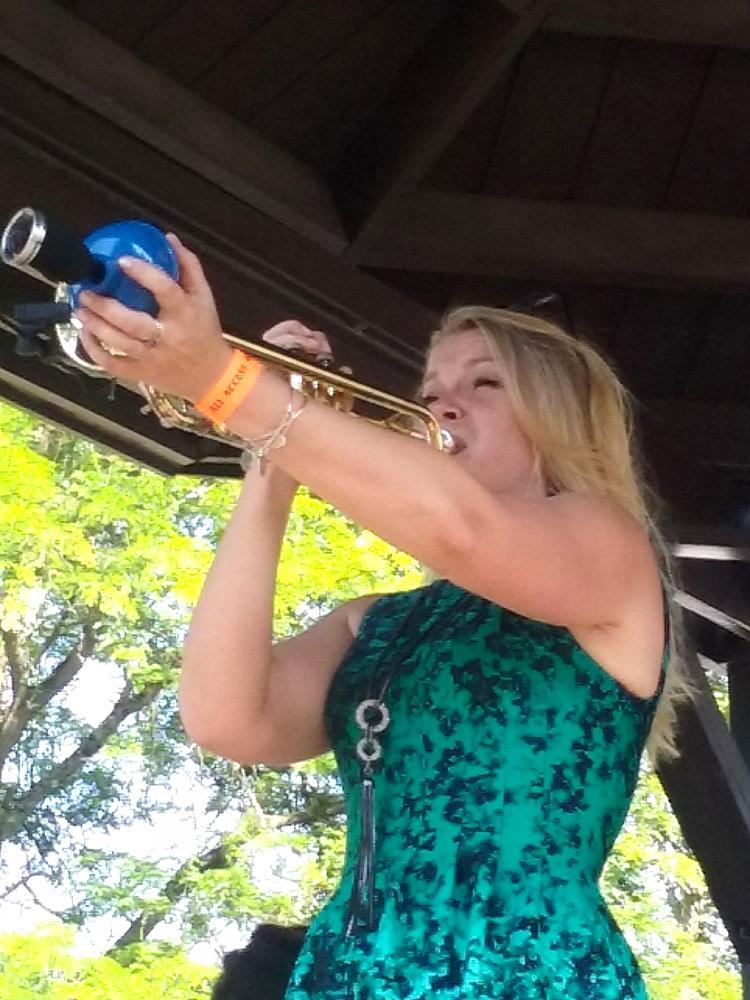 Bria Skonberg at Freihofer's Saratoga Jazz Festival 2016
