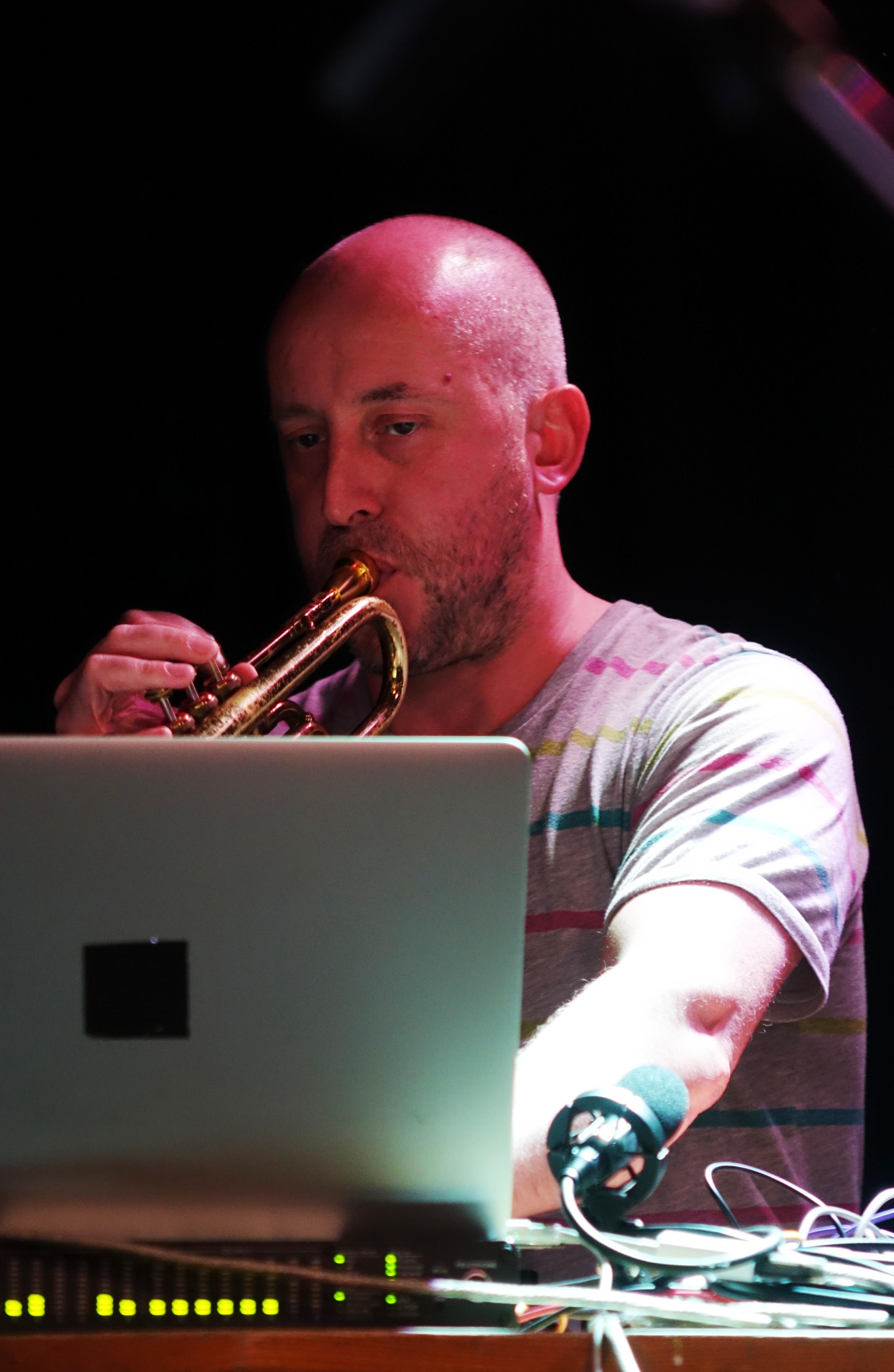 Alex Bonney at the Vortex, London in December 2017