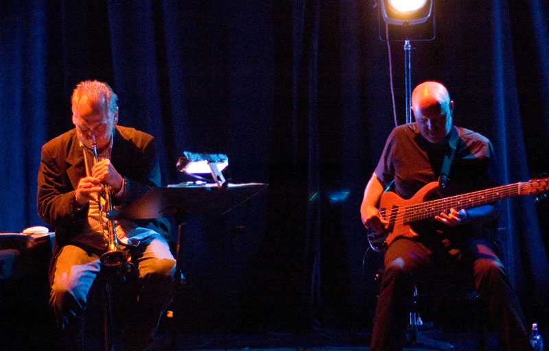 Jon Hassell and Skuli Sverrisson, Performing at Punkt 2010