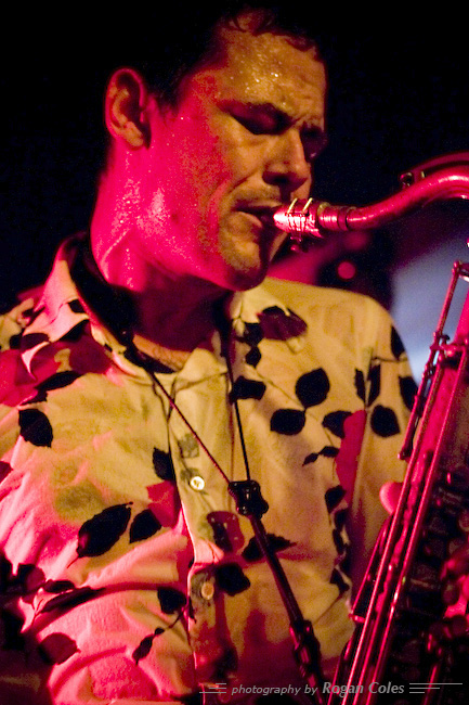 Pete Wareham/Acoustic Ladyland - 2007 London Jazz Festival.