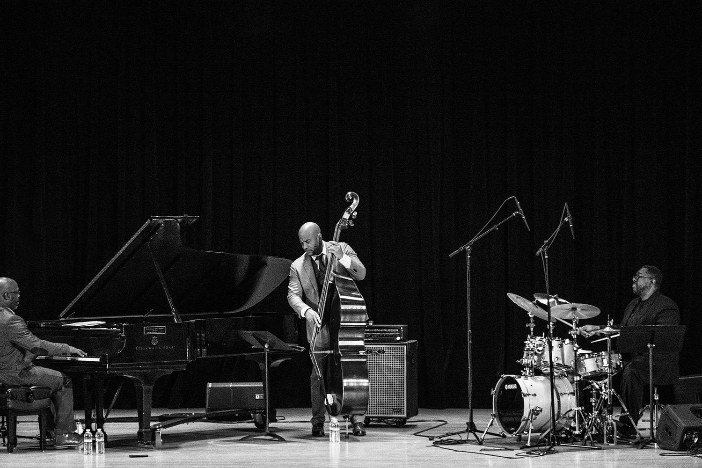 Orrin Evans Trio at Stanislaus State Turlock, Ca