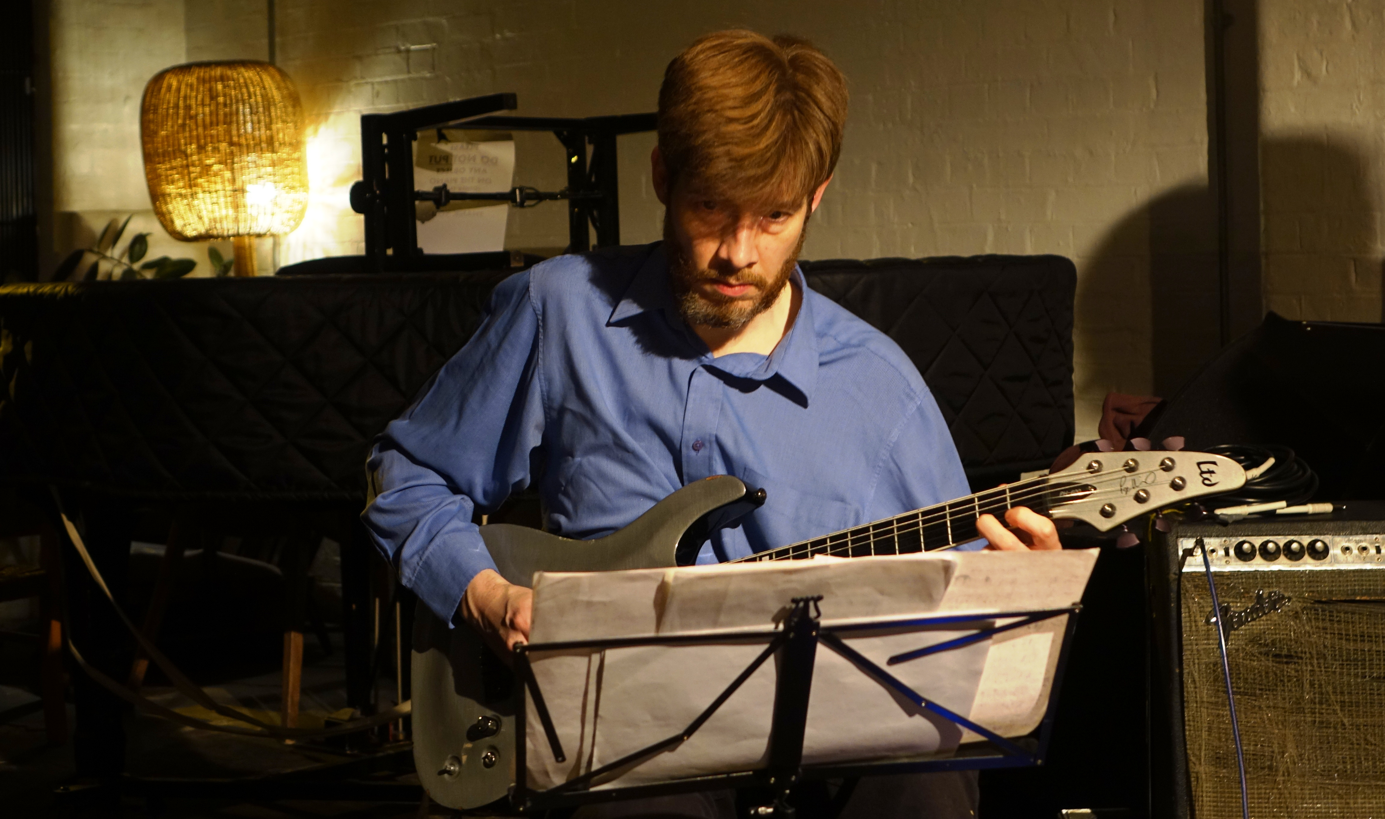 Alex Ward at Cafe Oto, London in January 2019