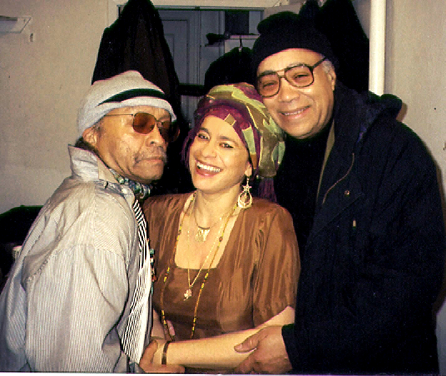Michele Rosewoman with Cecil Taylor and James Spaulding