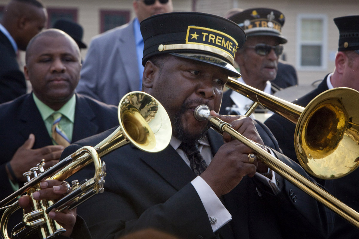 Actor Wendell Pierce in Hbo's Treme