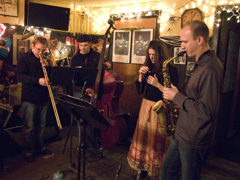 Hufflignon - Sophie Tassignon, Peter Van Huffel, Samuel Blaser &Amp; Michael Bates - 55 Bar 2008