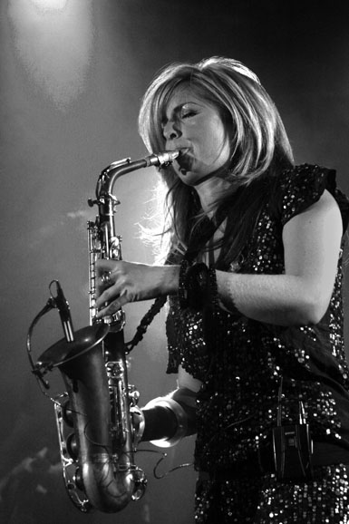 Candy Dulfer: Luxembourg, 2005