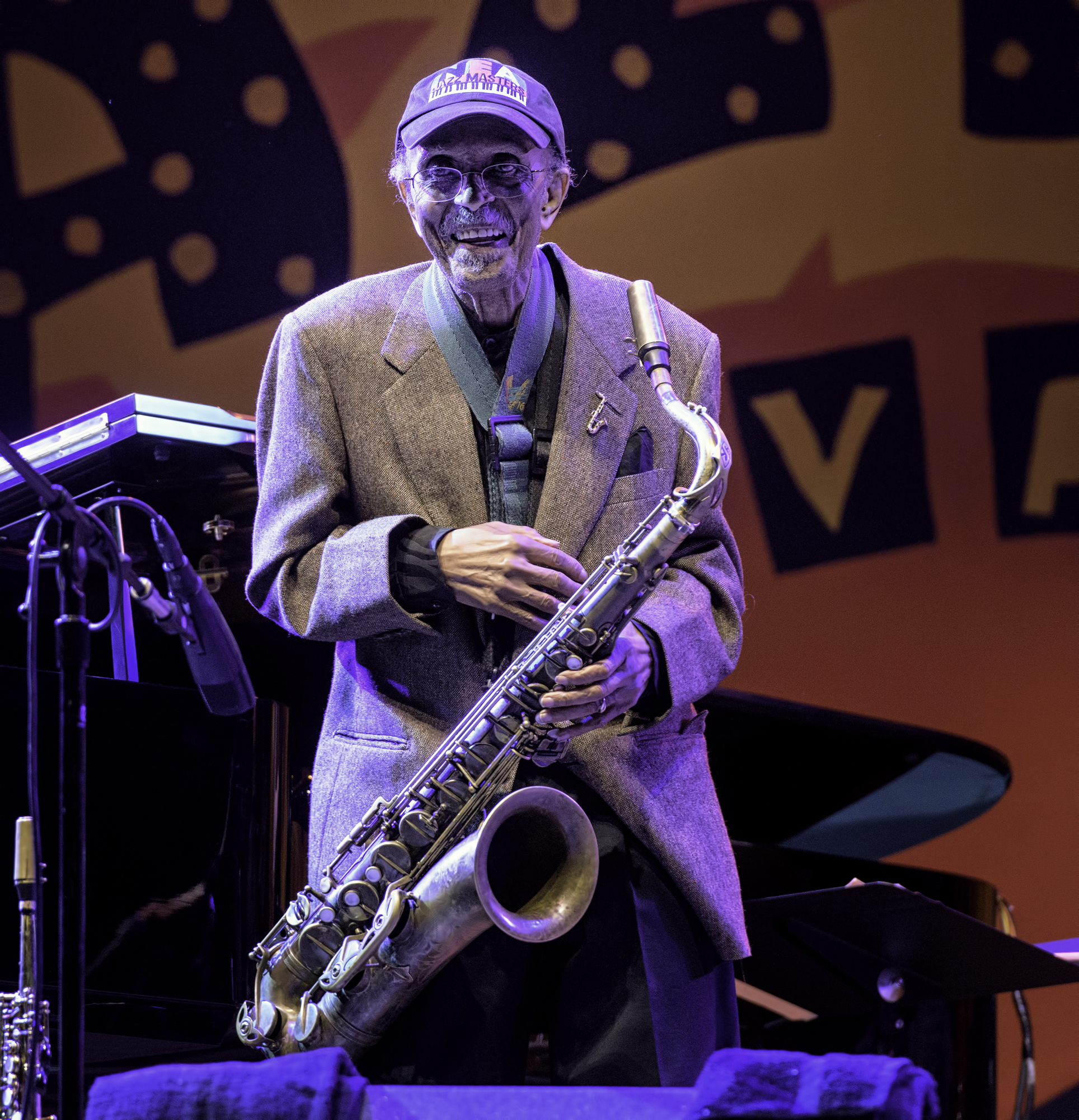 Jimmy Heath with A Tribute to Sonny Rollins at the Monterey Jazz Festival