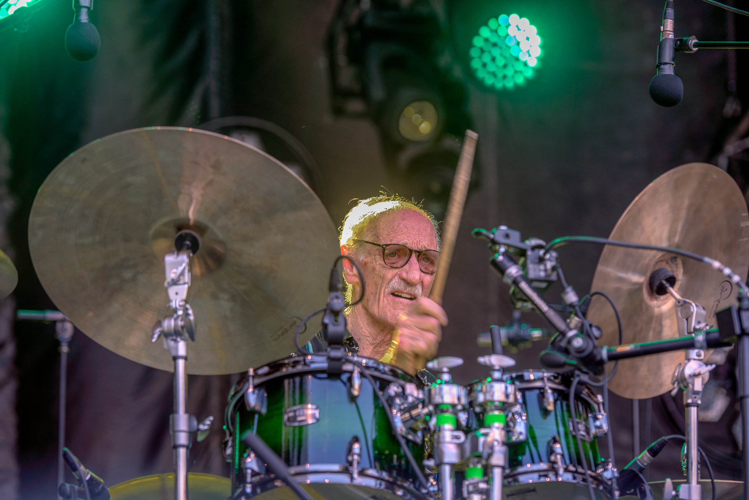 Jerry Granelli At The Montreal International Jazz Festival 2018