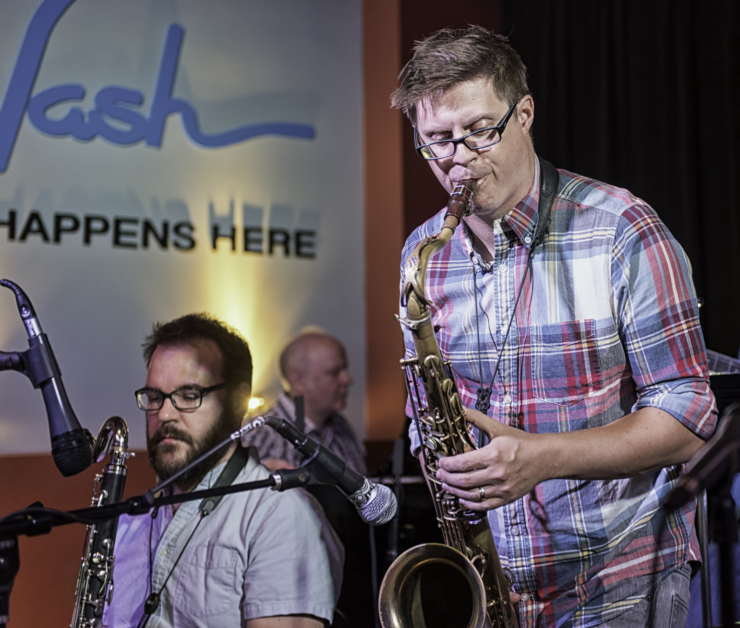 Keith Kelly, Adam Roberts And Russell Schmidt With The Nash Composers Coalition At The Nash In Phoenix