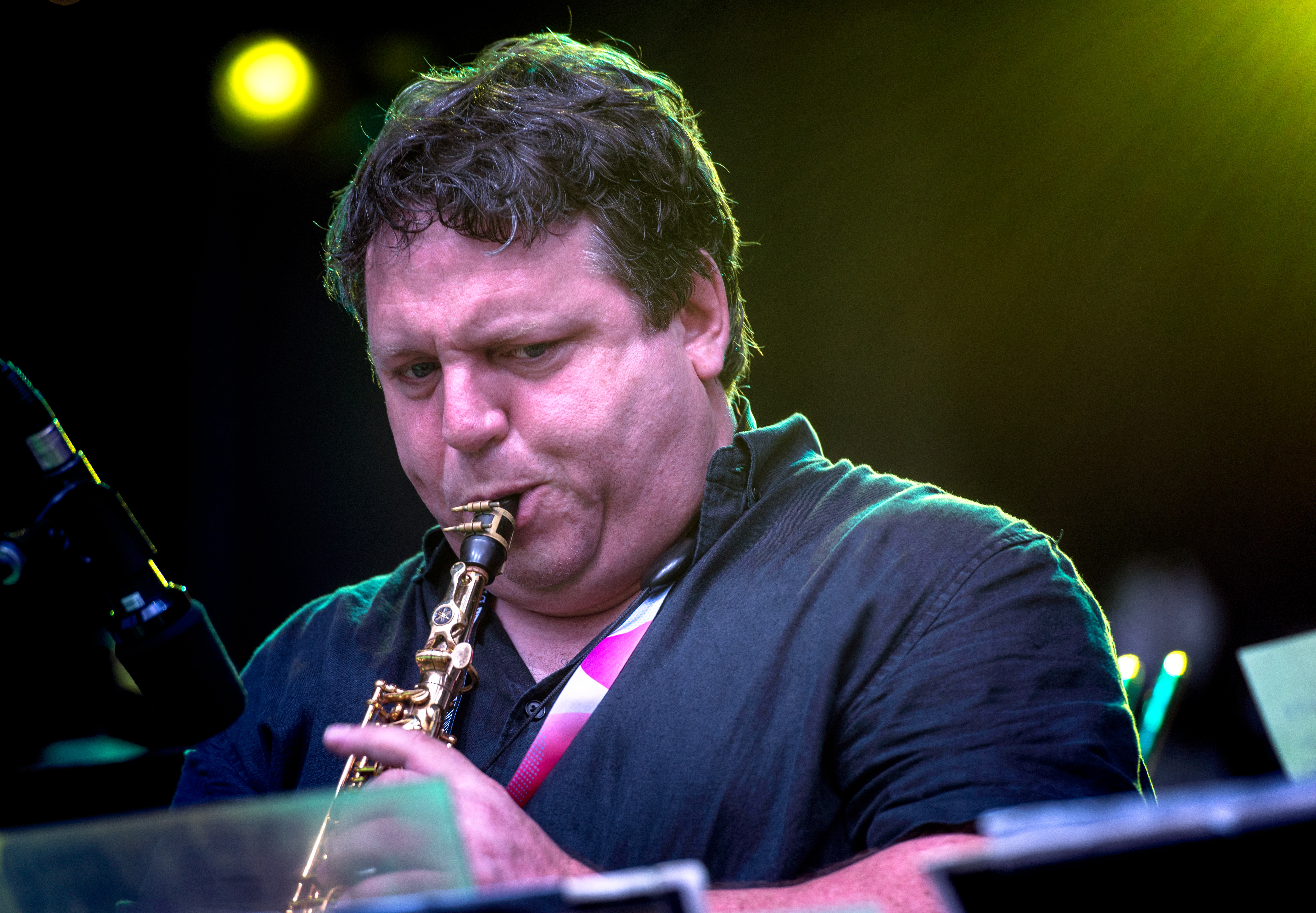 David Bellemare With The Joe Sullivan Big Band At The Montreal International Jazz Festival 2018