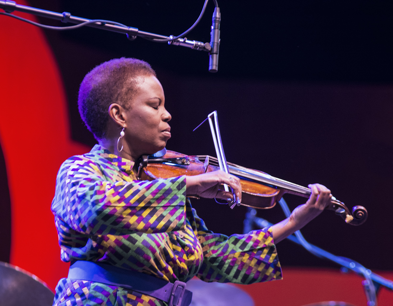 Regina Carter at Monterey Jazz Festival 2017