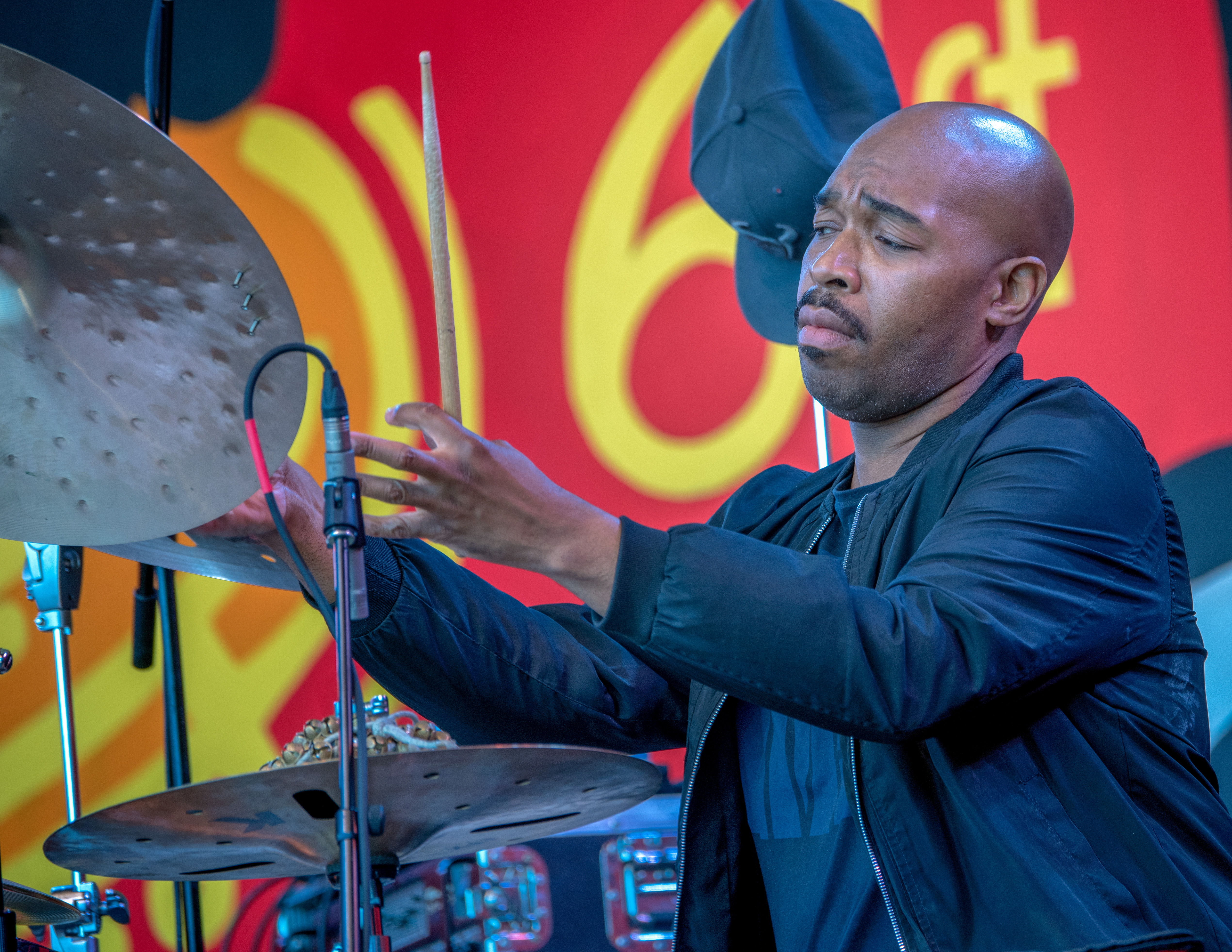Eric Harland with Charles Lloyd and the Marvels at the Monterey Jazz Festival 2018