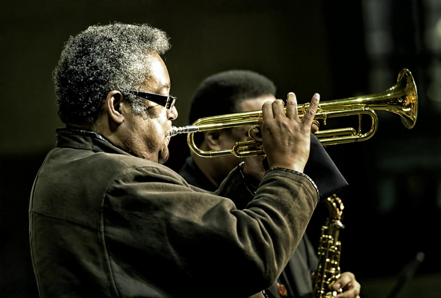 Jon Faddis At The Jazz Legends For Disability Pride At The NYC Winter Jazzfest 2017