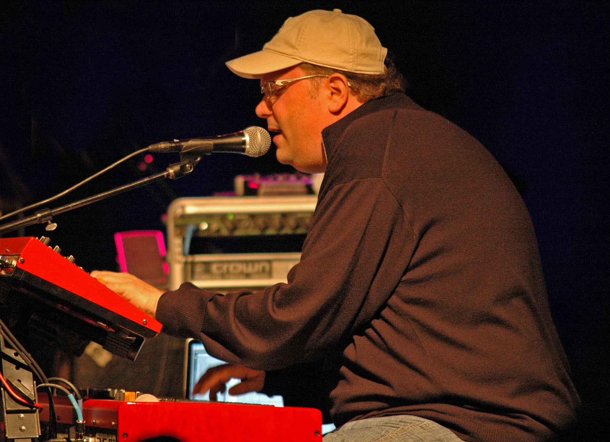 Scott Kinsey, Performing with Human Element at the New Universe Music Festival 2010