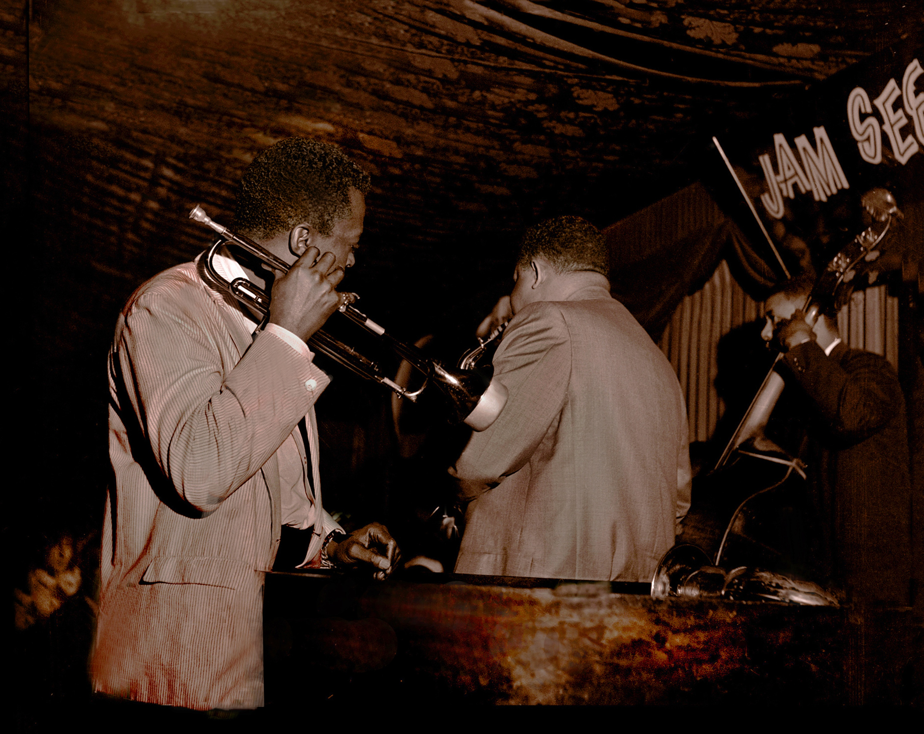 Miles davis at the black hawk jazz club