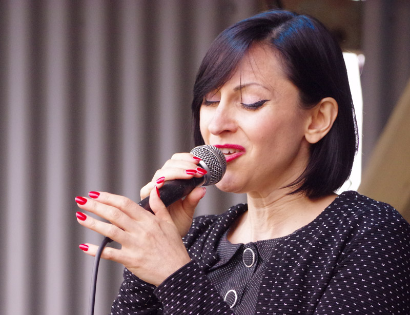 Georgia Mancio, Love Supreme Jazz Festival