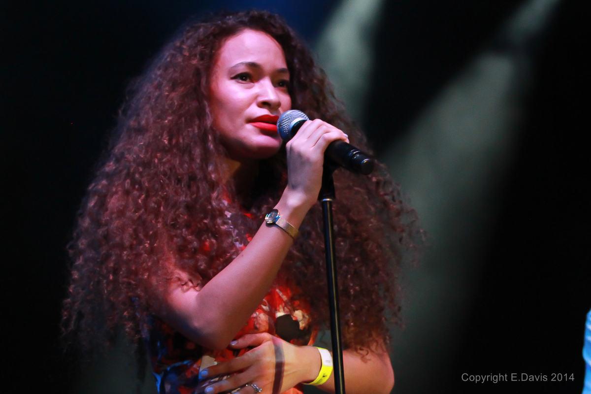 Isadora Mendez Scott Performs at the Atlanta Jazz Festival