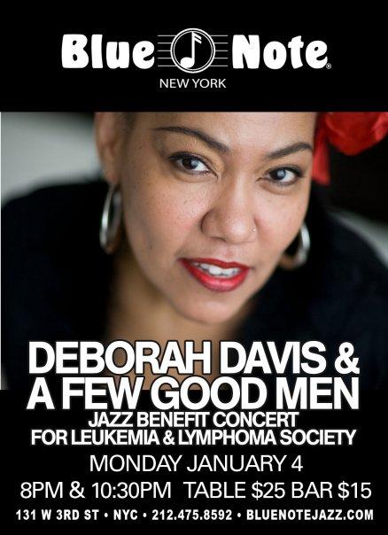 Deborah Davis @ Blue Note