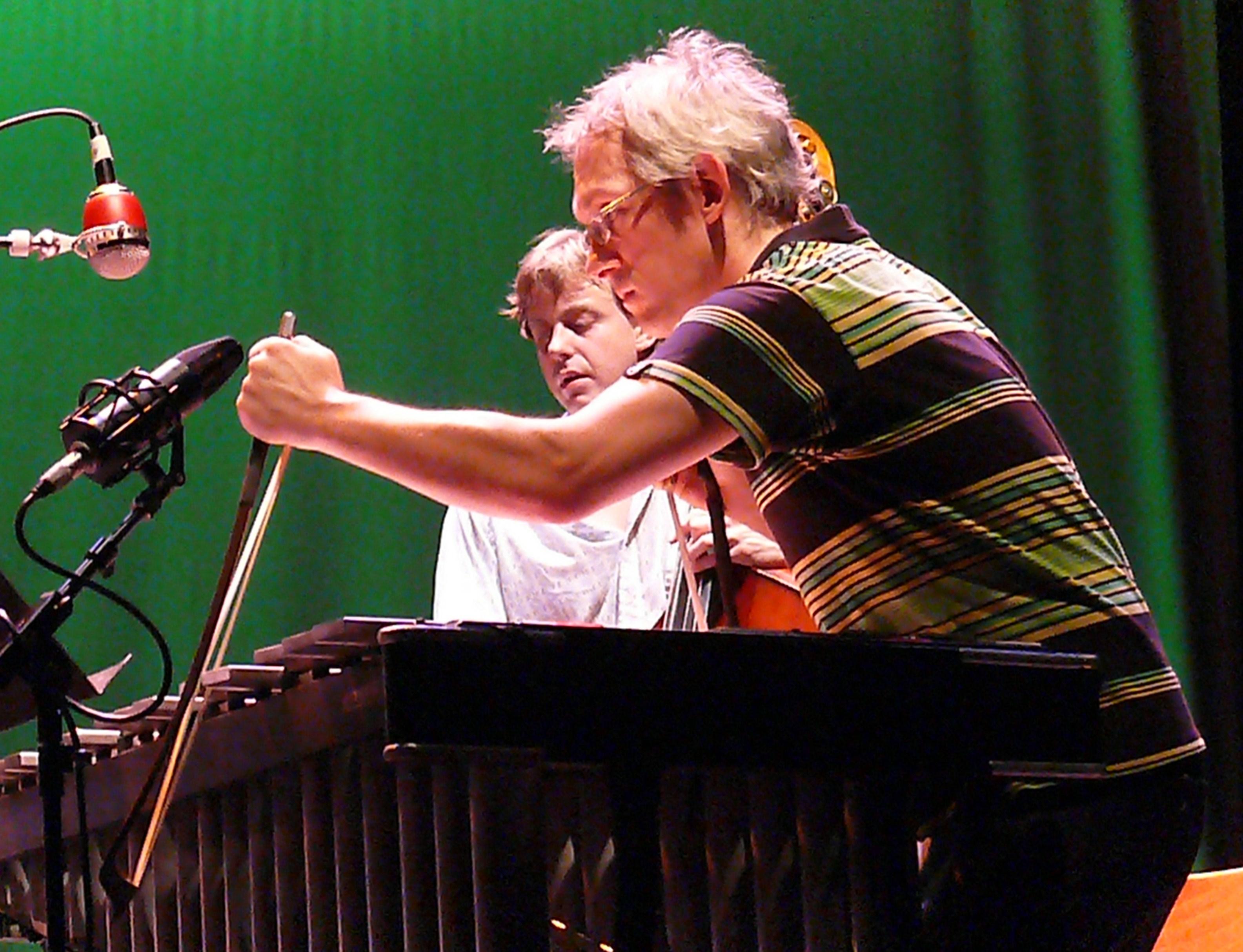 Matt Moran and Chris Lightcap at Vision Festival 2010