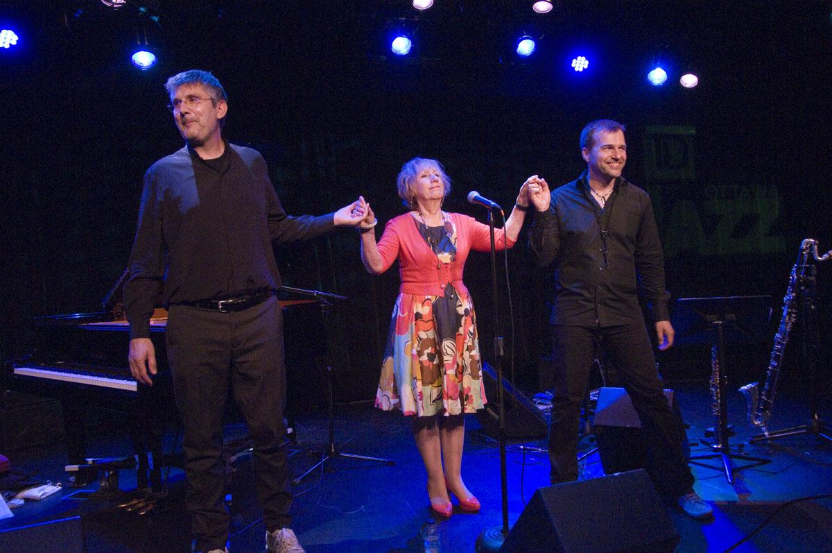 Norma Winstone Trio, td Ottawa Jazz Festival