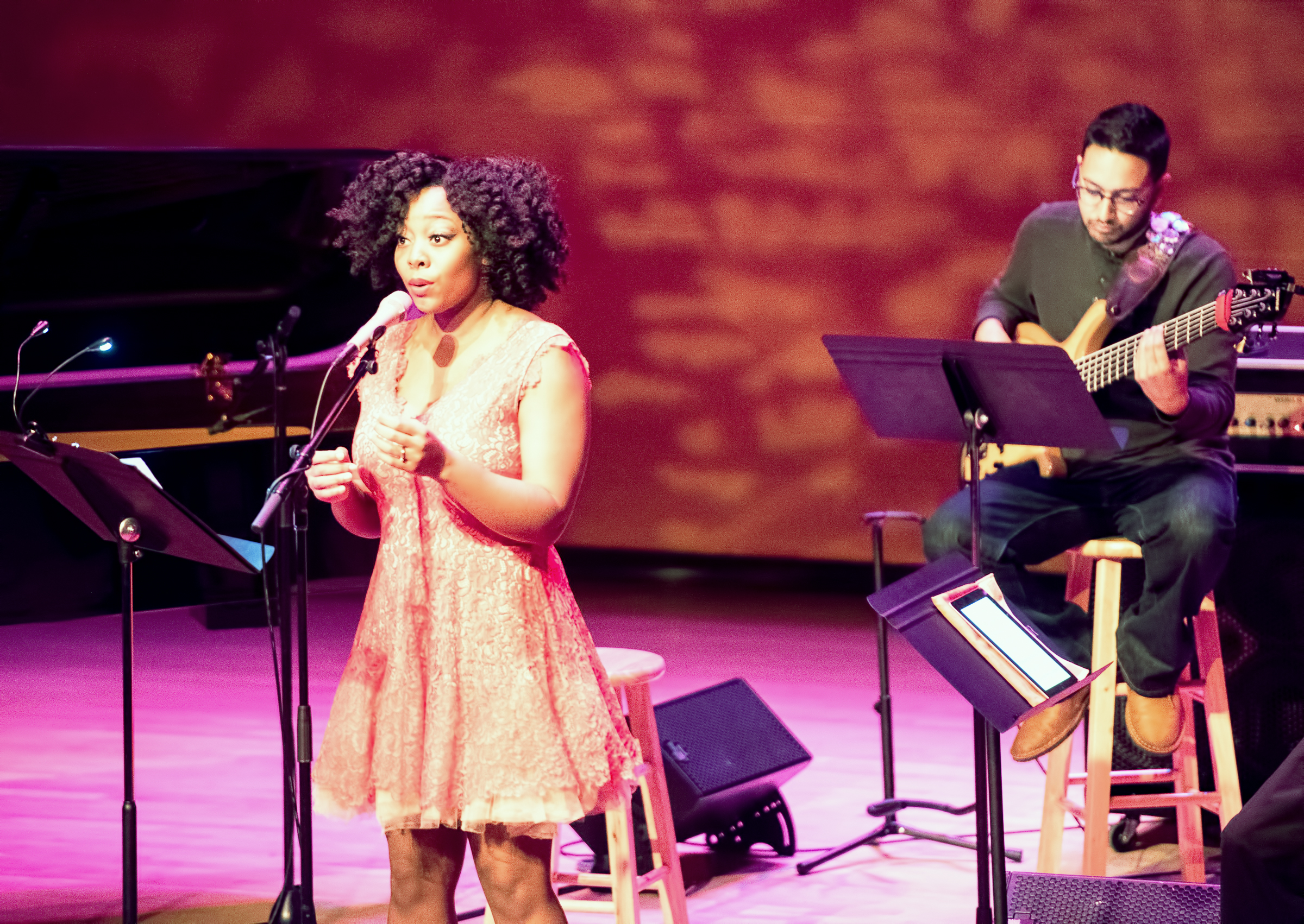 Alicia Olatuja And Ben Shepherd With Billy Childs' Reimagining Laura Nyro At The Musical Instrument Museum (mim) In Phoenix