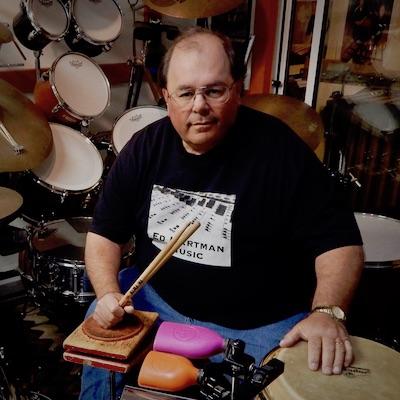 Ed Hartman (Studio, drumset)