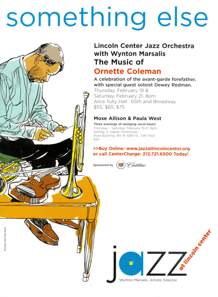 Ornette Coleman - Ad For Jazz At Lincoln Center