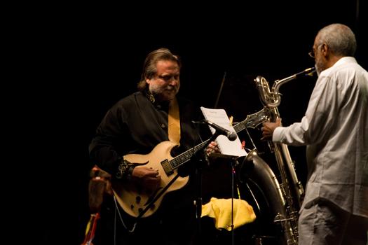 Jarek Smietana &Amp; Hamiet Bluiett - Jazz in the Forest Festival - Suleczyno/ Poland in Jul. 2008