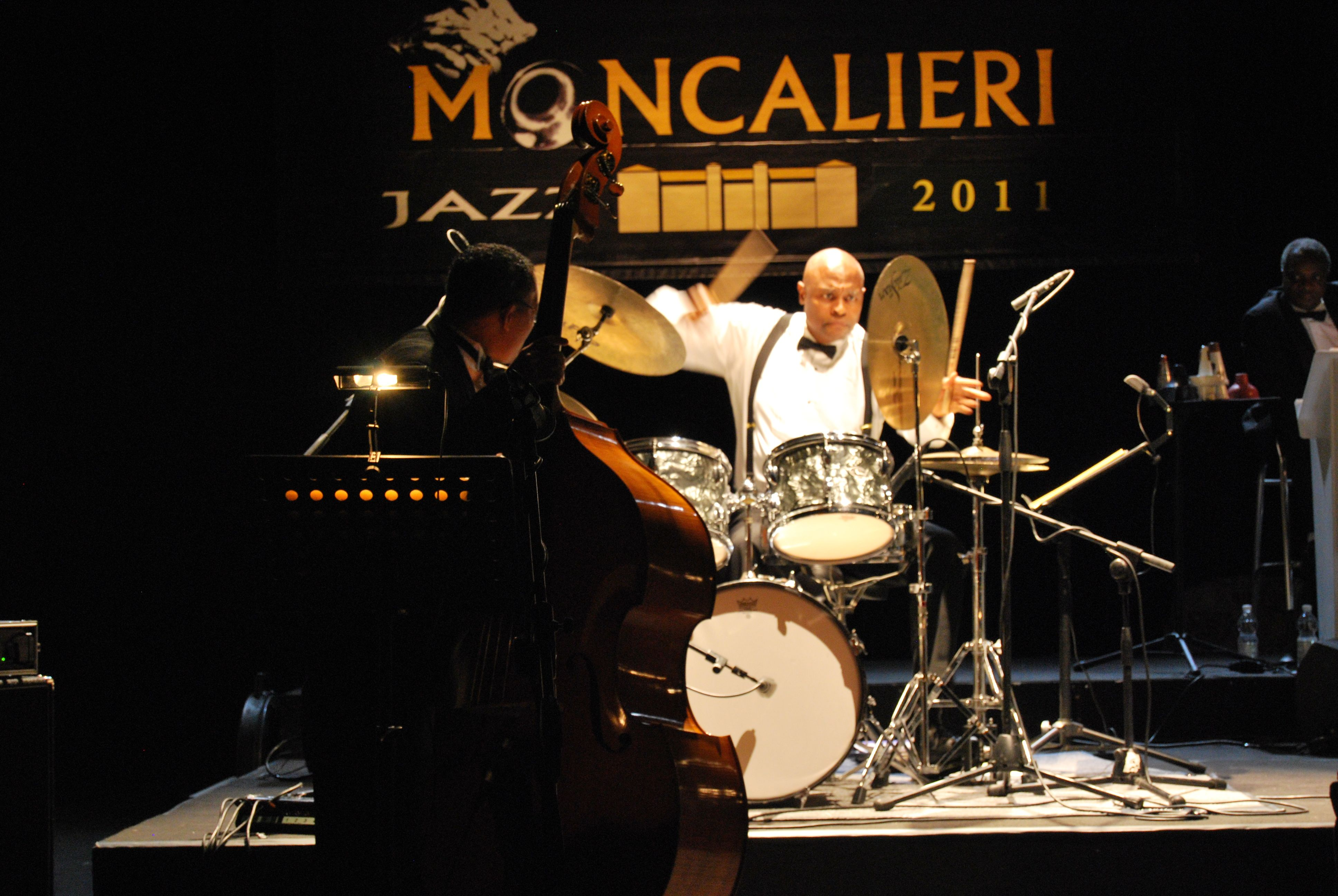 David with the Duke Ellington Orchestra in Italy