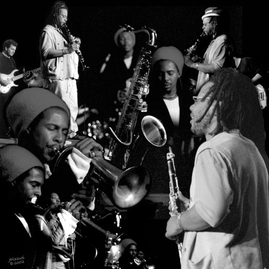 Montage Including Don Byron and Roy Hargrove