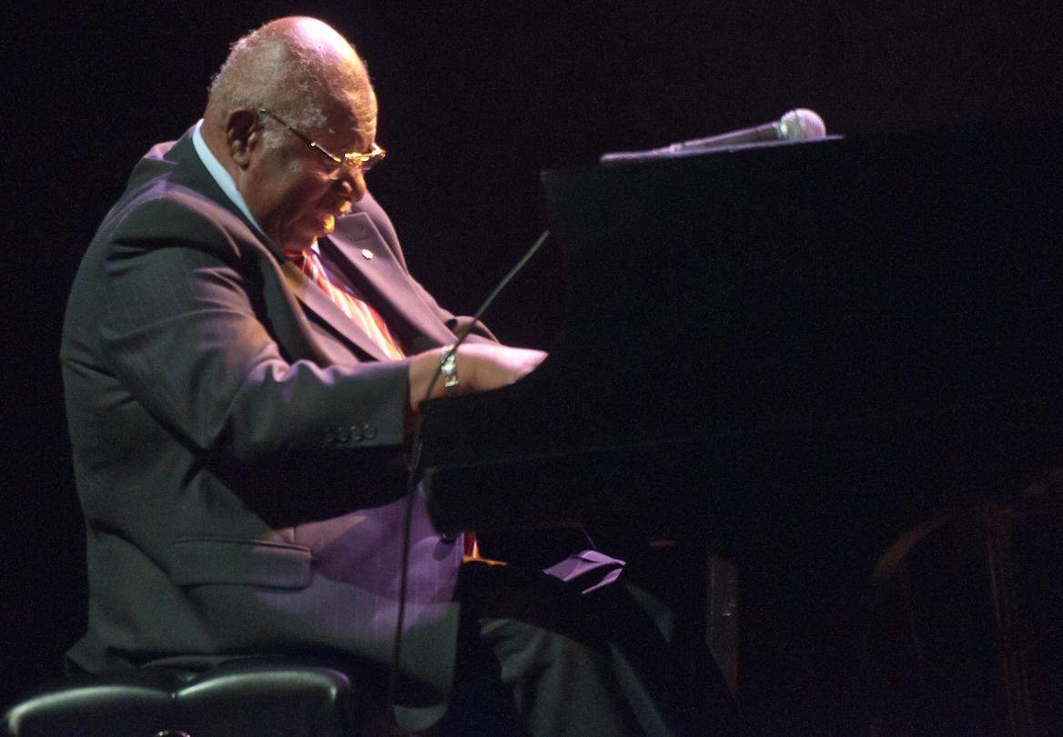 Oliver Jones at the Montreal International Jazz Festival 2011