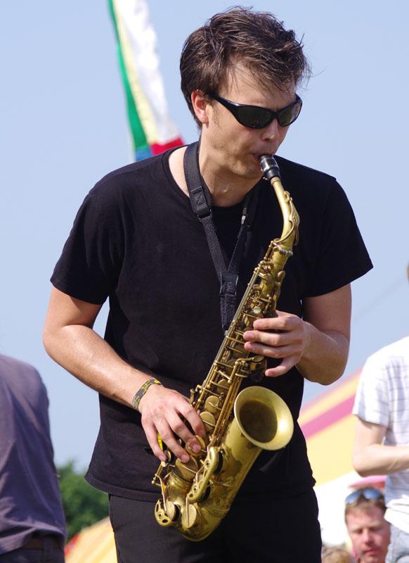 Paul towndrow, brass jaw, love supreme jazz festival
