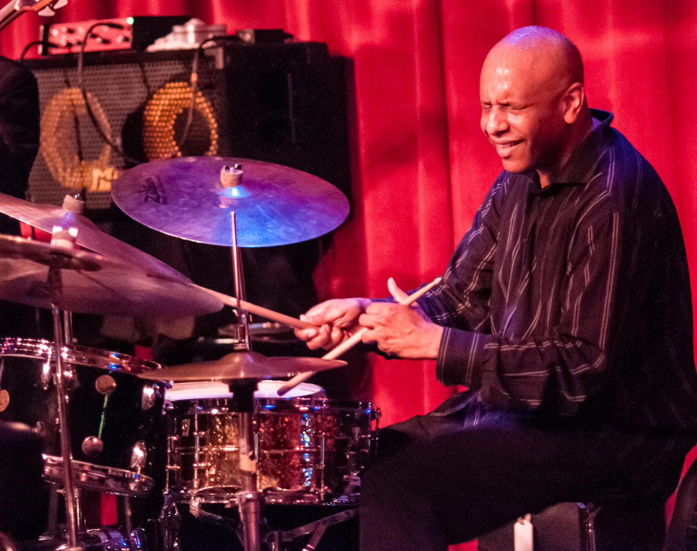 Billy Drummon with the Masters Quartet at Birdland