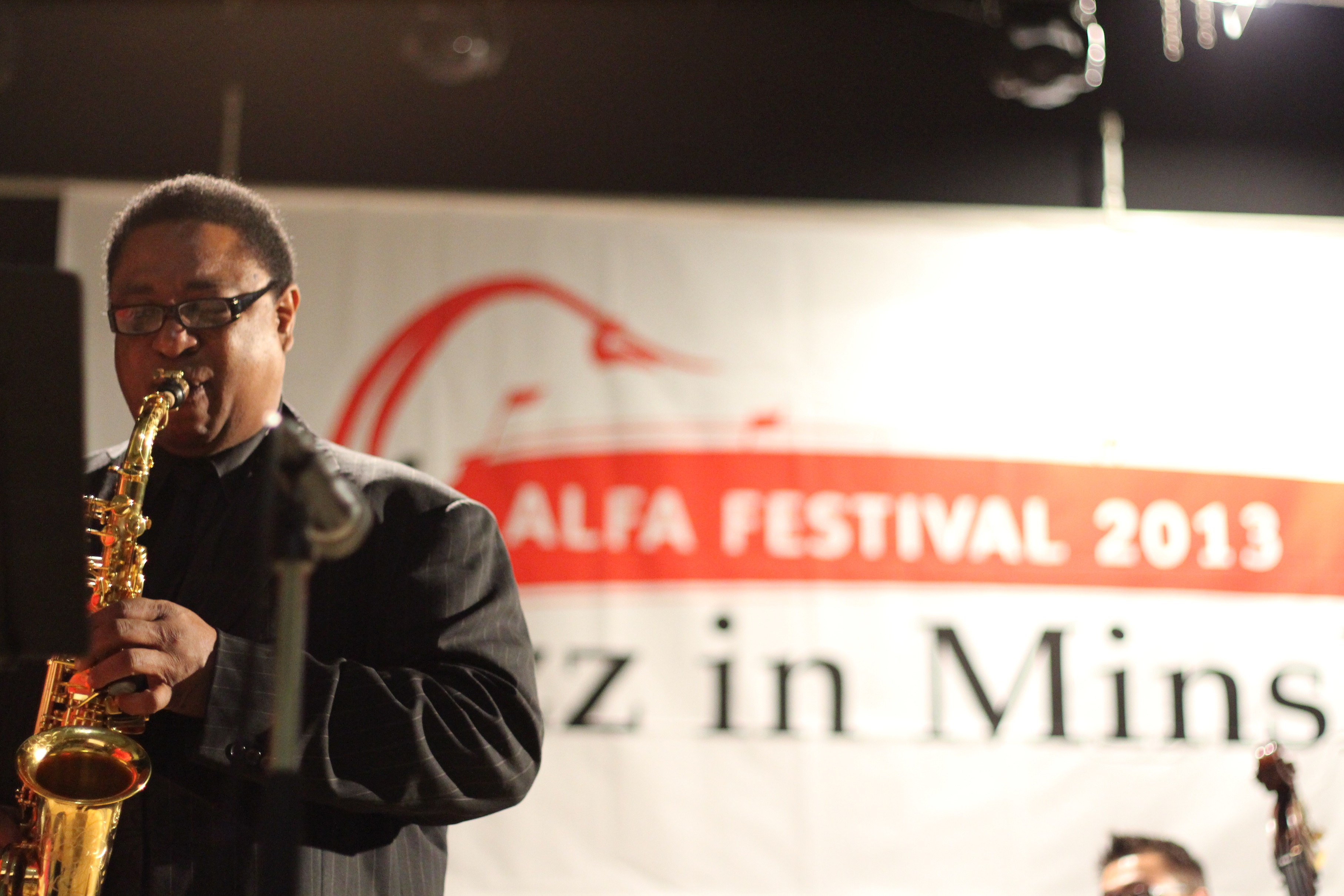 Vincent herring at the 2013 minsk jazz festival