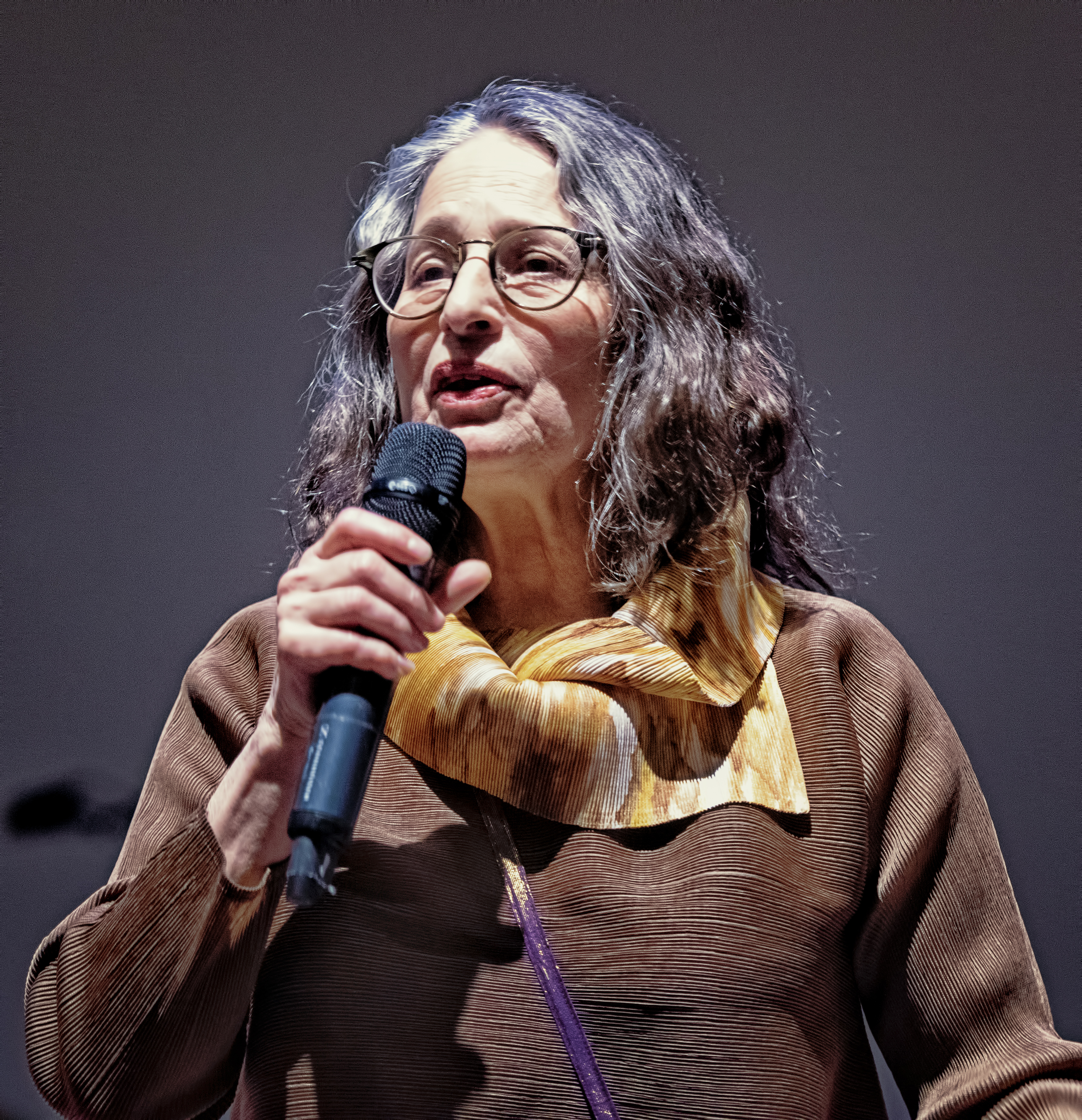 Patricia Nicholson Parker At the Vision Festival 2019